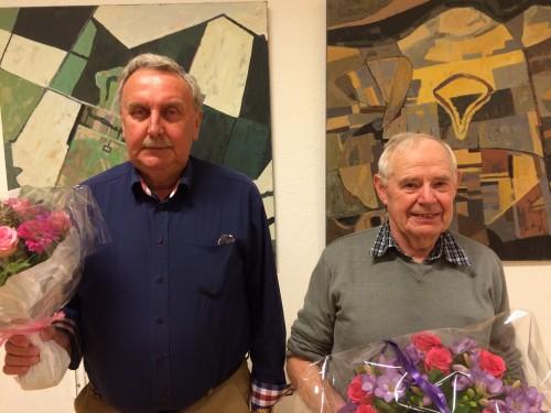 Klubmestre i Mandagsklubben 2014-15: John Søndergaard - Henning Mogensen